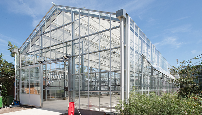 Unigro completes build of propagation glasshouse at Kew Gardens
